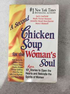 CHICKEN SOUP FOR WOMEN's SOUL - versi bahasa