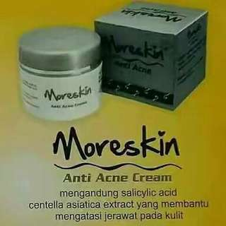 Moreskin Anti Acne Cream Nasa/Agen Nasa Bekasi 081381429926