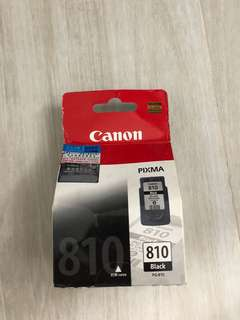 Canon PG-810黑色 墨盒 Black Original Ink Cartridge