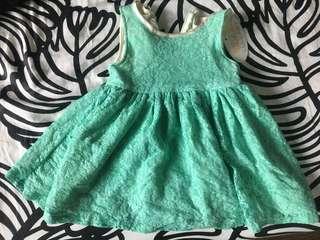 Lace dress (branded)