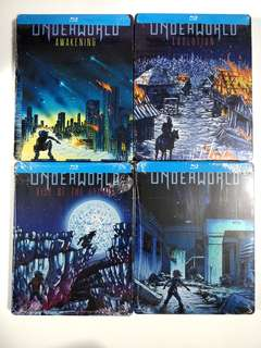 Underworld 1-4 Steelbook Limited Edition Blu-ray