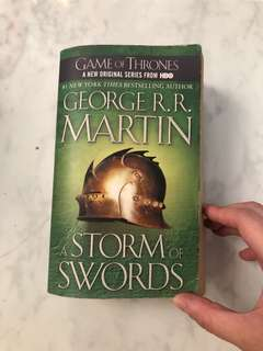 GAME OF THRONES - George RR Martin- A Storm of Swords