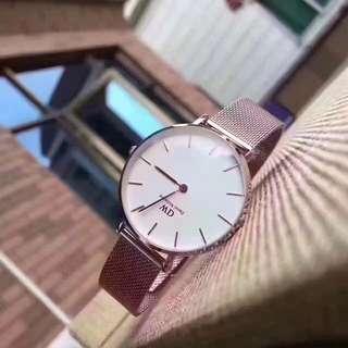Daniel Wellington Watch 28mm classic petite rose gold white watch