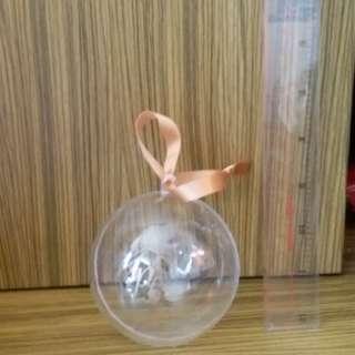 plastic ball gift boc