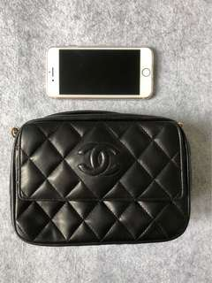 Chanel lamb skin crossbody Vintage Bag