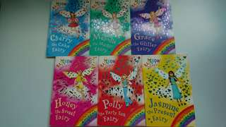 Rainbow Magic 15-19, 21 Party Fairies