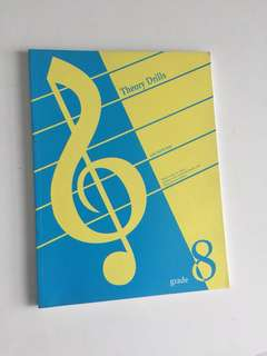 Music Theory Exercise Book Grade 8