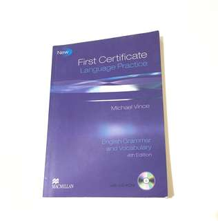 🚚 First certificate language practice