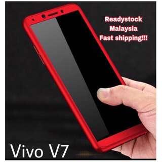 Vivo v7 & v9 360 full cover case