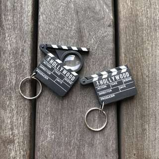 Hollywood Action Keychain - Charms clearance!