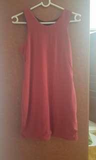 BN maroon dress