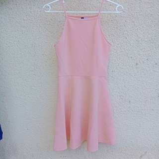 *REPRICED* Baby Pink Halter Dress