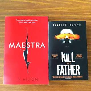 2 for $10: Maestra; Kill The Father