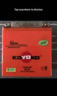 Koyoko Yb10l-bs battery