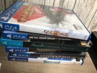 PS4 Games!(NO LOWBALLERS)