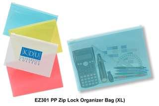 Wholesale PP Zip Lock Organizer Bag (XL)