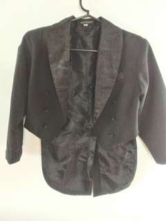 Black Tuxedo top