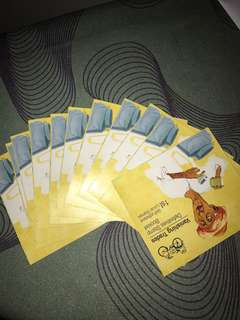 Local stamp (11 booklets)