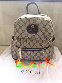 Gucci back pack