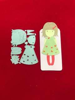 Doll #1 scrapbook Cutting Dies