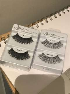 Free pair of lashes with any purchase*
