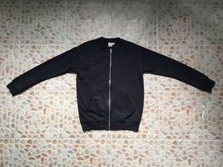 ASOS black bomber jacket