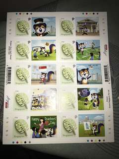 Local stamp (1 booklet)