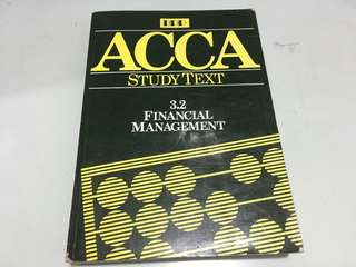 ACCA Study Text: Financial Management