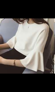 White Blouse XXL