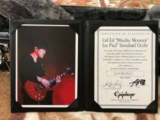 "Epiphone signature series ""Mayday Monster"""
