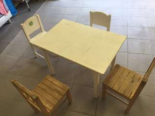 IKEA table set for kids