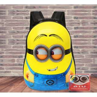 Children's Traum Minions Hard Case Backpack