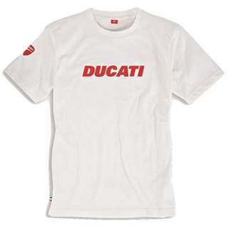 Official Ducati Ducatiana Graphic Short Sleeve T-Shirt T Shirt Red White Black Grey SMALL MEDIUM LARGE X-LARGE XX-LARGE XXX-LARGE XL XXL XXXL