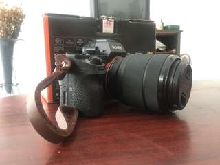 Sony A7 Mark II full box with lens 28-70mm
