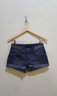 Zara studded hotpants