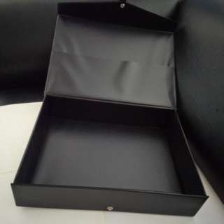 A4 Document Box Case (H: 75mm). Brand new, never used