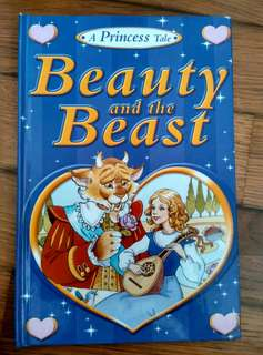 A Princess Tale Storybook <Beauty and the Beast>