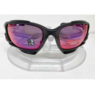 Authentic Brand New in Box Oakley OO9171-3762 RACING JACKET MATTE BLACK/PRIZM ROAD BLACK IRIDIUM  Sunglasses