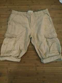Authentic Buffalo cargo shorts 3/4