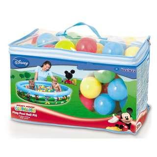Kolam Renang Anak MICKEY 3 RING BALL PIT - 91028