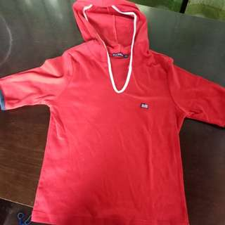 Baleno blouse with hood