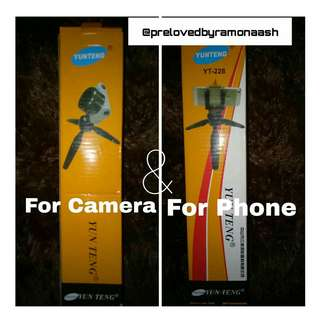 TRIPOD MINI YUNTENG FOR HP & CAMERA