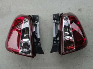 Fiat Abarth 500 all-red tail lamp