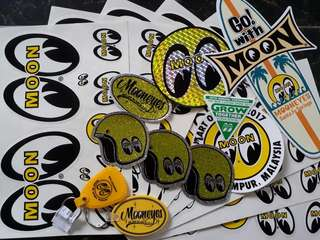 Sticker Mooneyes original
