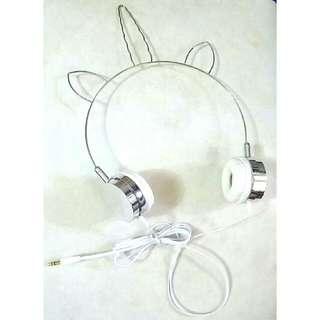 全新 貓耳朵耳筒 Headphone Earphone Cat New