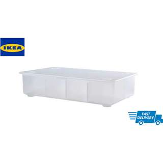 IKEA GLIS Box with lid, transparent
