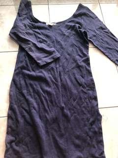 Navy Blue Bodycon Dress