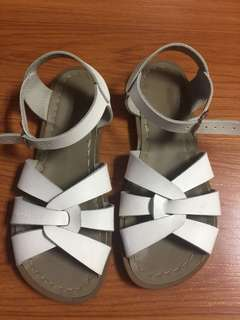 Saltwater Sandals in White