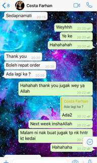 CUSTOMER FEEDBACK KEK BATIK KAK YONG