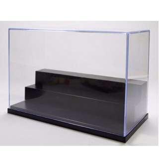 3 Step Acrylic Display Case Box